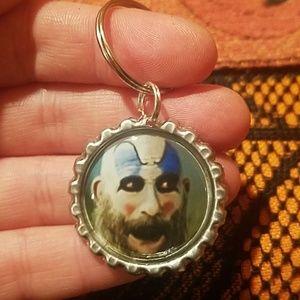 10/$40♥️New captain spaulding Sid Haig keychain
